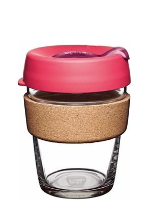 Keepcup utazó bögre parafával, rózsaszín, 340 ml
