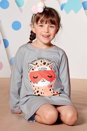 Dievčenská nočná košeľa Dodo Chat