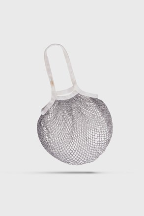 Sivo-biela taška cez rameno Česká síťovka