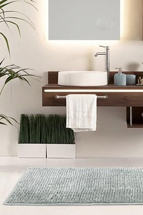 Kúpeľňová predložka Bati sivá