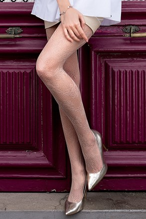 Čarape s gaćicama s uzorkom Brigitte 09