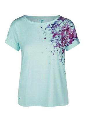 Γυναικείο μπλε μπλουζάκι LOAP Alyssa
