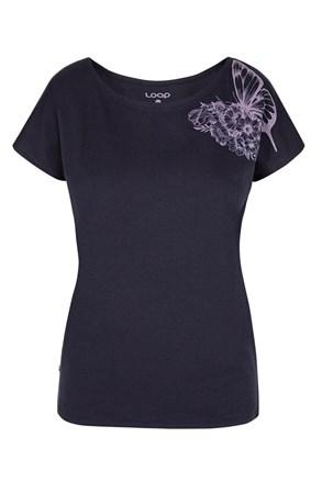 Tricou albastru pentru femei LOAP Babea