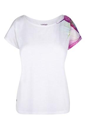 Dámske biele tričko LOAP Alexi