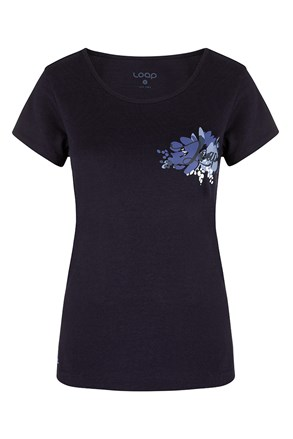 Дамска синя фланела LOAP Astraia
