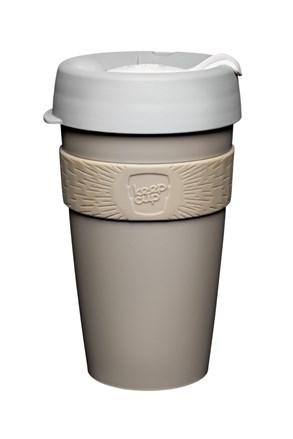 Kubek podróżny Keepcup brązowy 454 ml