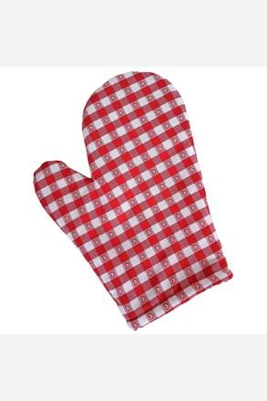 Rękawiczka kuchenna Kanwa czerwona