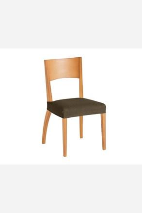 Set 2 huse pentru scaun, maro