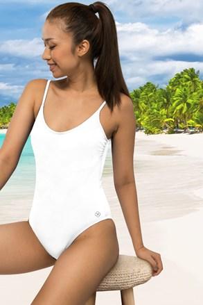 Dámske jednodielne plavky Rhodes biele