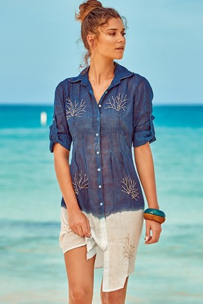 Koszulowa sukienka plażowa Madeira
