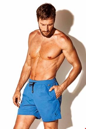 Moške kopalne kratke hlače Caicco plus size, modre