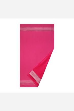 Ręcznik plażowy Deco różowy