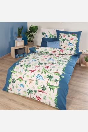 Lenjerie de pat Dinos, pentru copii