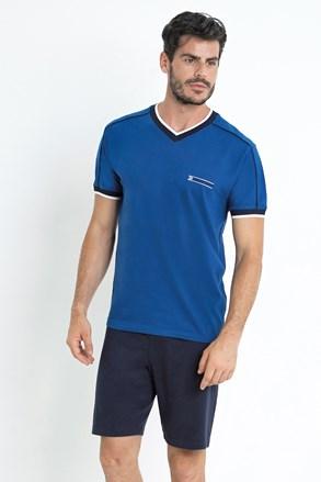 Gregor férfi pizsama, kék