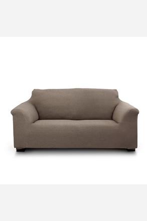 Pokrowiec na dwuosobową sofę Elegant brązowy