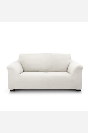 Pokrowiec na dwuosobową sofę Elegant kremowy
