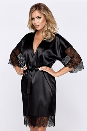 Жіночий халат Escora чорний