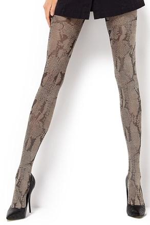 Čarape s gaćicama s uzorkom Estera 60 DEN