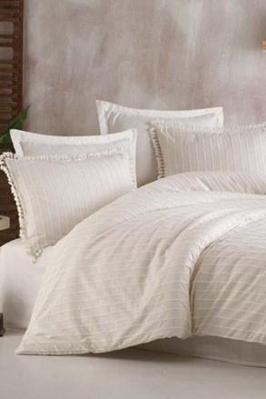 Estina luxus ágyneműhuzat, fehér