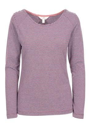 Дамска виолетова блуза Caribou