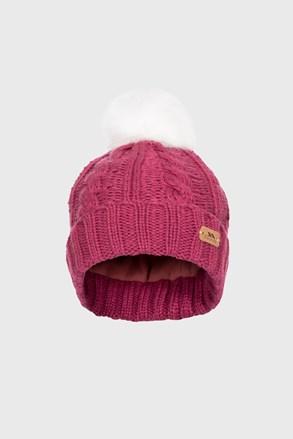 Детска шапка Ashleigh виолетова