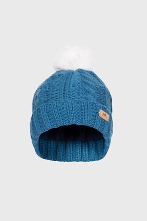 Detská čiapka Ashleigh modrá