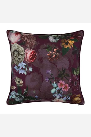 Perna decorativa Essenza Home Fleur Burgundy