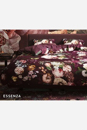 Pościel Essenza Home Fleur Burgundy