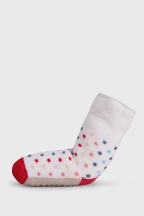 Detské protišmykové ponožky Bodky