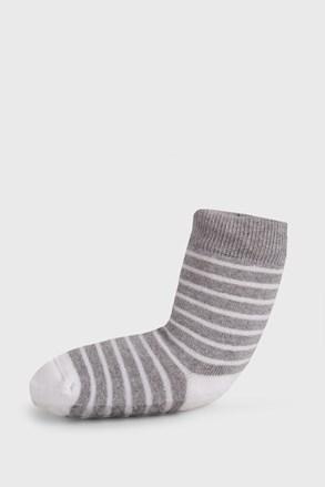 Детски чорапи със система против пързаляне раирани