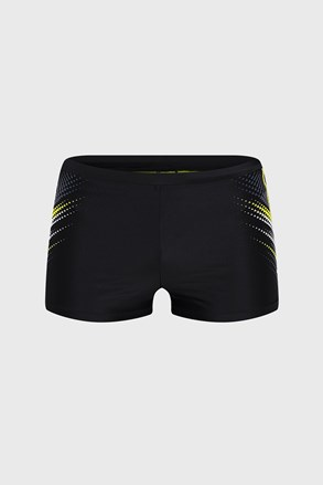 Čierne kúpacie boxerky Hornet