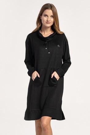Casual μαύρο φόρεμα Ralph Lauren
