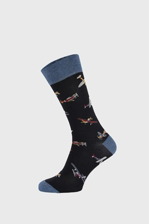 Tmavomodré ponožky Aircraft
