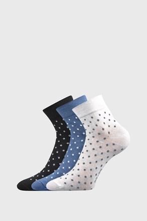 3 PACK dámskych ponožiek Jana