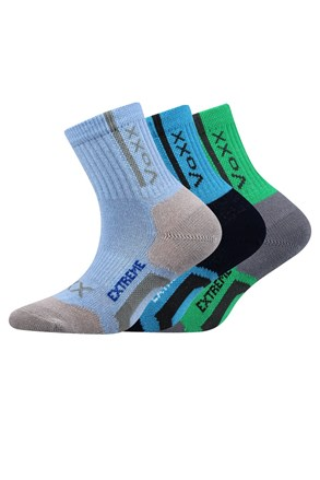 3 pack sportske dječje čarape Josifek