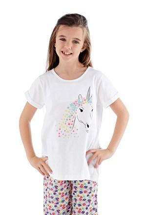 Dziewczęca piżama Polly biała