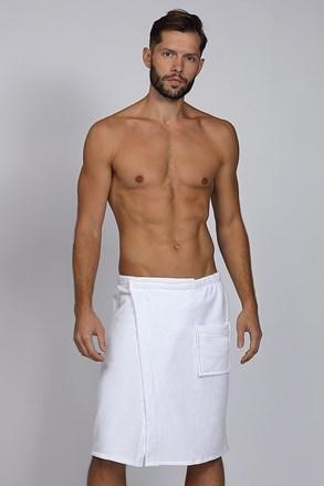 Męski ręcznik na saunę