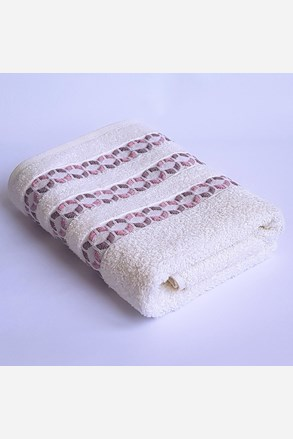 Prosop Kiara Ecru, fibre de bambus