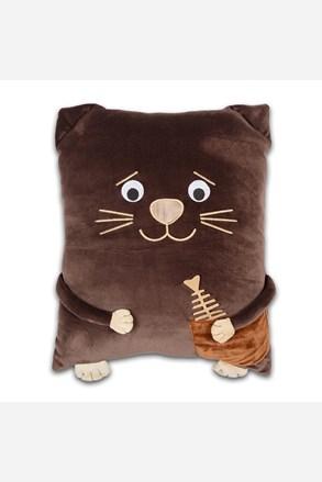 Dziecięca poduszka Kotek