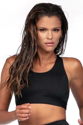 Жіночий спортивний бюстгальтер чорний