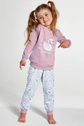 Dievčenské pyžamo Little Swan