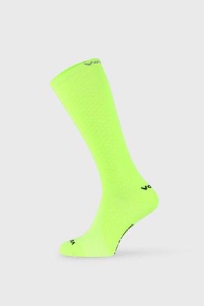 Sosete de comresie Lithe, pana sub genunchi, verde neon