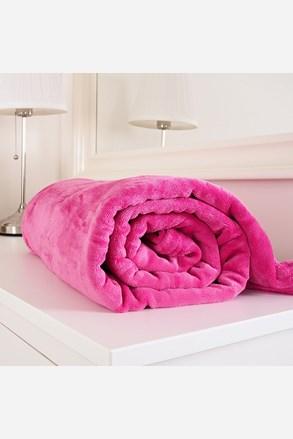 Mikroflanelová deka Exclusive ružová