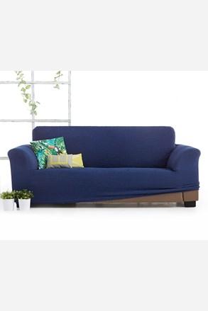 Husa Milos pentru canapea cu trei locuri, albastru