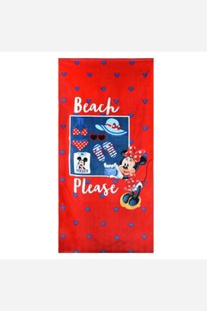 Dziewczęcy ręcznik plażowy Minnie