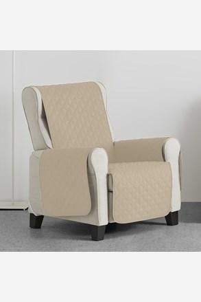 Pokrowiec na fotel Moorea beżowy