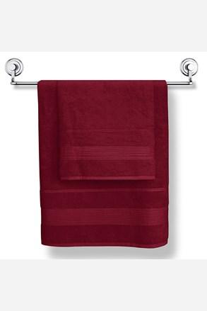 Bambusowy ręcznik Moreno bordo