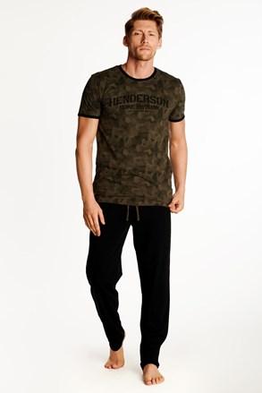 Fekete-barna pizsama Okay