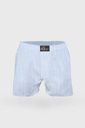 Синьо-бели раирани шорти Elka LOUNGE