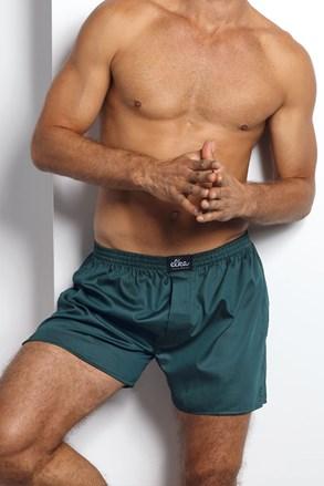 ELKA LOUNGE férfi alsónadrág, sötétzöld